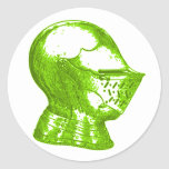 Green Knight Medieval Creative Anachronisms Stickers