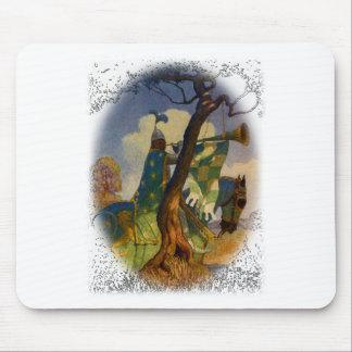 Green Knight Mouse Pad
