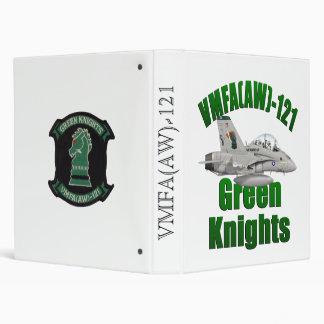 Green Knights Bimder 3 Ring Binder