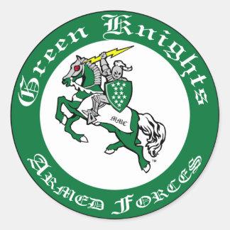 Green Knights MMC Club Sticker