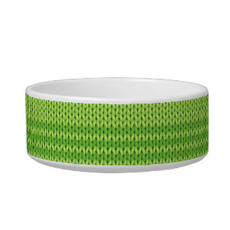 Green Knit Bowl