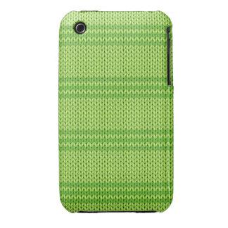 Green Knit Case-Mate iPhone 3 Case