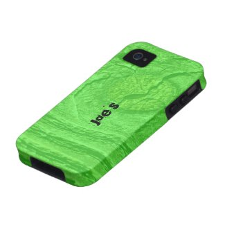 Green Knotty Wood Case-Mate iPhone 4 Cases