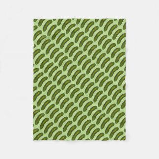 Green Kosher Dill Pickle Pickles Foodie Blanket