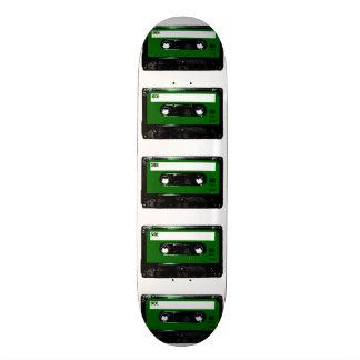 Green Label Cassette Skateboard