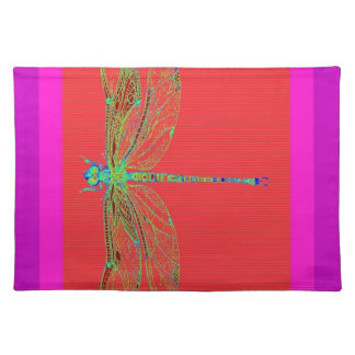 Green Lace wing Deagonfly by Sharles Placemats