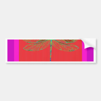 Green Lace Wing Dragonfly by Sharles Bumper Sticker