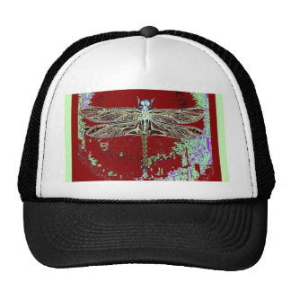 Green Lace Wing Dragonfly By Sharles Trucker Hat