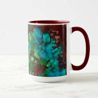 Green Laced Shattuckite Mug