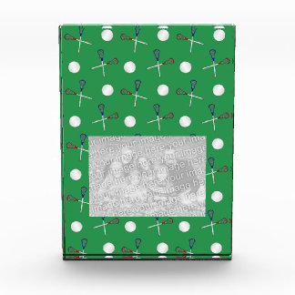 Green lacrosse pattern award