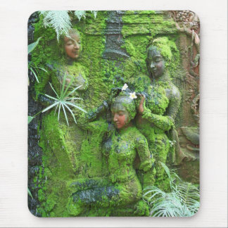 Green Ladies Mouse Pad