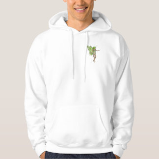 Green Lady Fairy 5 - 3D Fantasy Art - Hoodie