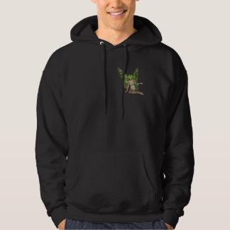 Green Lady Fairy 7 - 3D Fantasy Art - Hoodie