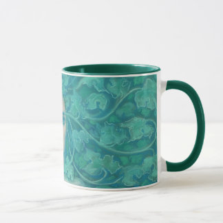 Green Lady / Forest Queen, fantasy art Mug