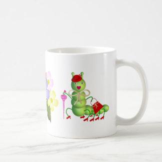Green Lady Worm Mug