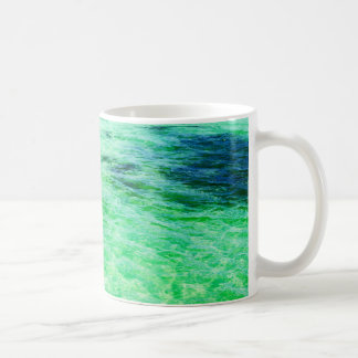 Green lagoon coffee mug