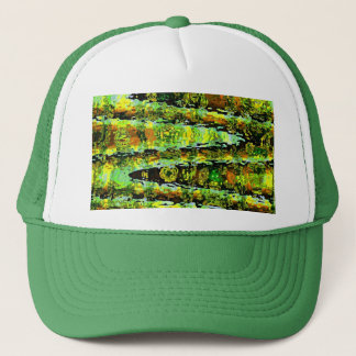 Green Lagoon Romance : Waves n Spectrum Trucker Hat