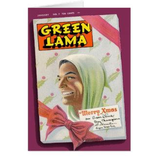 Green Lama #7 Cards
