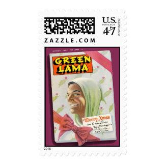 Green Lama #7 Postage