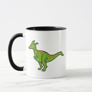 Green Lambeosaurus Mug