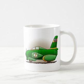 Green Land Speed Car Mugs