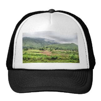 Green Landscape Trucker Hats