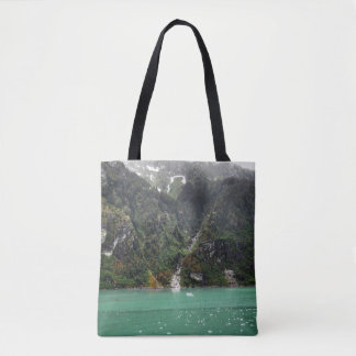 Green Landscape Tote Bag