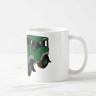 Green Landy Coffee Mug