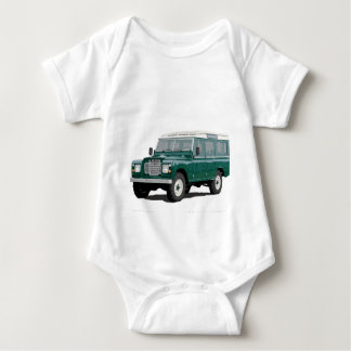 Green Landy Land Rover Classic Vintage Hiking Duck Shirt