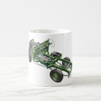 Green Landy Land Rover Cutaway Hiking Duck Mug