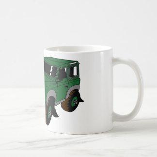 Green Landy Basic White Mug