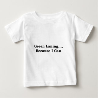Green laning black baby T-Shirt