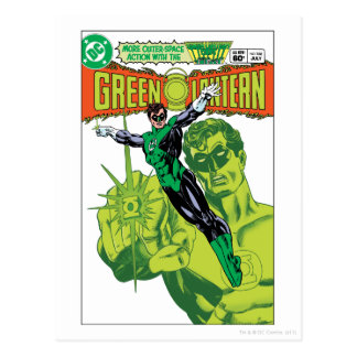 Green Lantern - Action Comic Cover Postcard