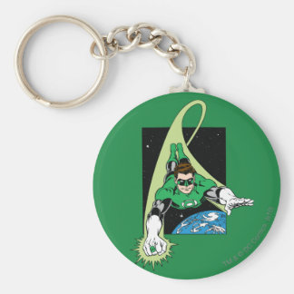 Green Lantern and Earth Keychain