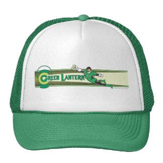 Green Lantern and Logo Mesh Hat