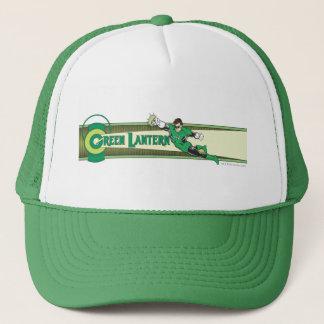 Green Lantern and Logo Trucker Hat