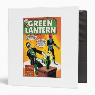 Green Lantern and Sinestro Cover Binder