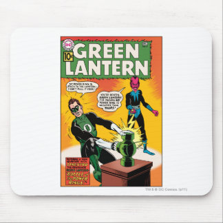 Green Lantern and Sinestro Cover Mouse Pad