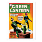 Green Lantern and Sinestro Cover Postcard