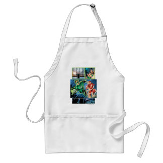 Green Lantern and The Flash Panel Adult Apron