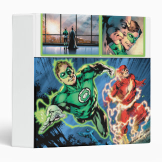 Green Lantern and The Flash Panel Vinyl Binders
