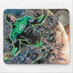 Green Lantern and the Moon Mouse Pads