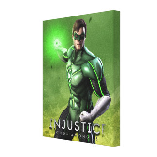 Green Lantern Stretched Canvas Prints