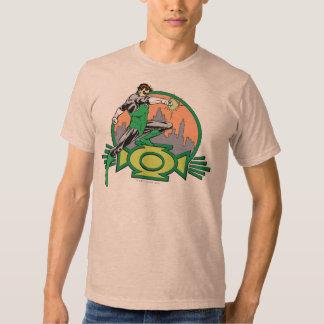 Green Lantern City Background and Logo Shirt