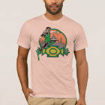Green Lantern City Background and Logo T-Shirt