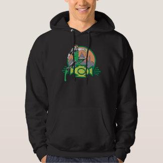 Green Lantern & Cityscape Hoodie