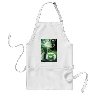 Green Lantern close up cover Adult Apron