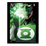 Green Lantern close up cover Postcard