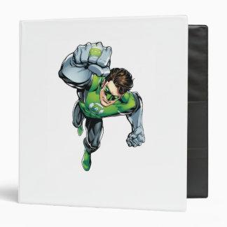 Green Lantern - Comic,  Arm Raise 3 Ring Binder