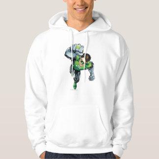 Green Lantern - Comic,  Arm Raise Hoodie
